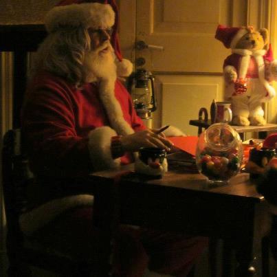 Babbo Natale riceve le letterine