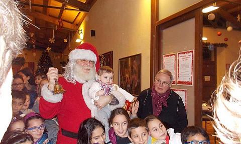 Babbo Natale e i bambini