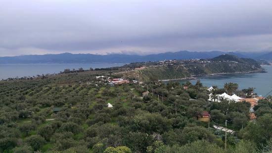 Vista aerea della Baronia